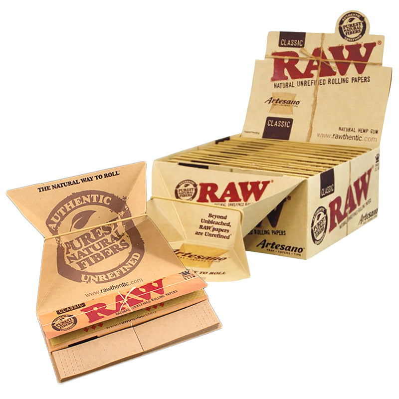 Raw Artesano King Size Slim Paper - Smoketokes