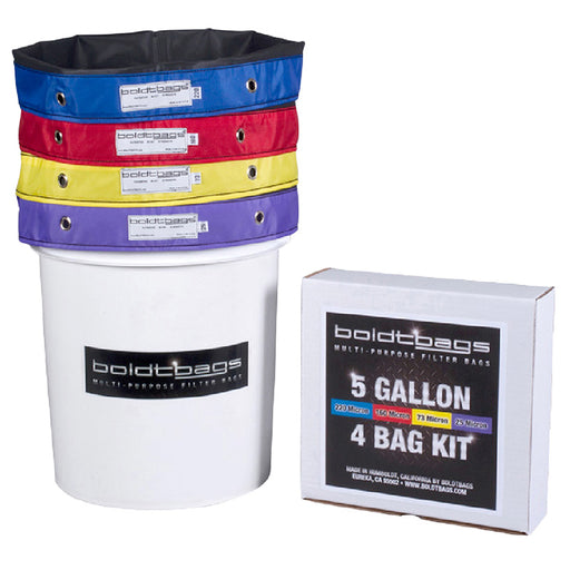 BoldtBags 5 Gallon 4 Bag Kit - Smoketokes