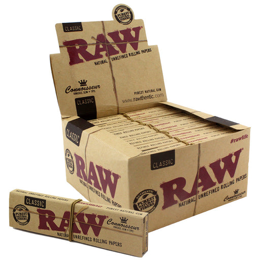 Raw Classic Connoisseur KSS Size Rolling Paper - Smoketokes