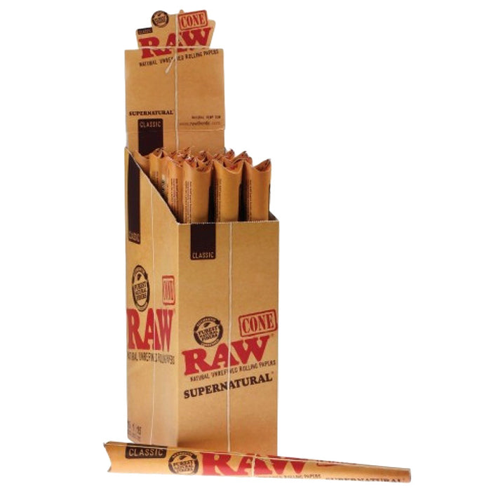 Raw Classic Supernatural Pre-Rolled Cone - Smoketokes