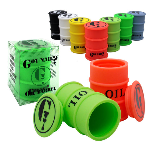 26ml Silicone Oil Barrels by Got Nail? - Smoketokes