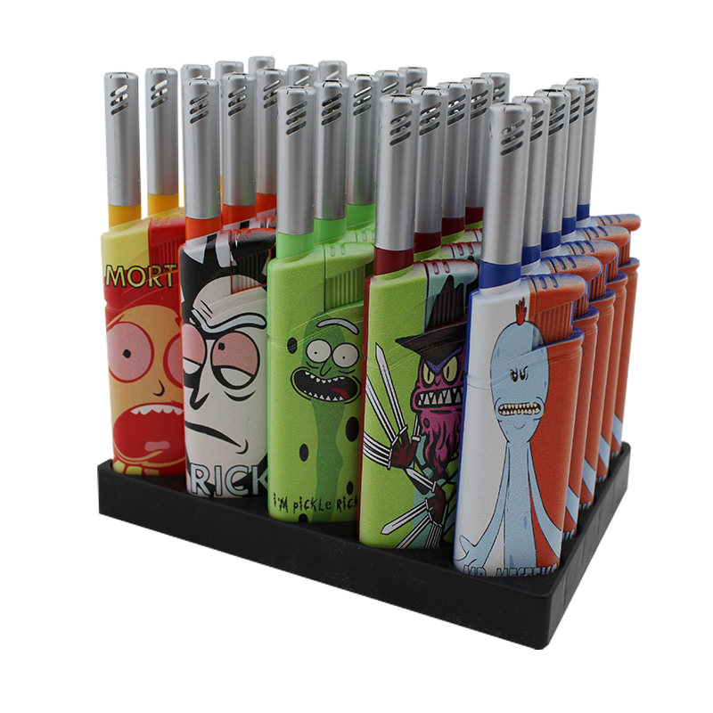 Rick and Morty Crocs Lighter Display - Smoketokes