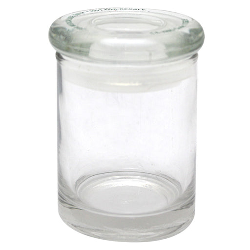 Small Clear Glass Jar - Smoketokes