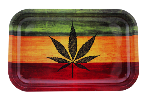 Rasta Tray Small 11'' - Smoketokes