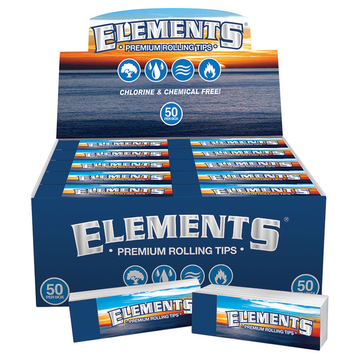 Elements Premium Rolling Tips - Smoketokes