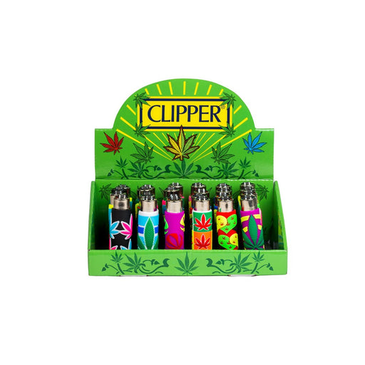 Clipper Pop Cover Leaves Lighters (24pk) - Smoketokes