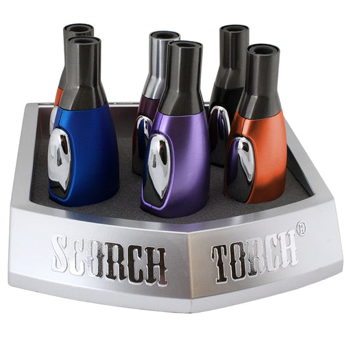Scorch Torch Easy Grip Straight Color Display - Smoketokes
