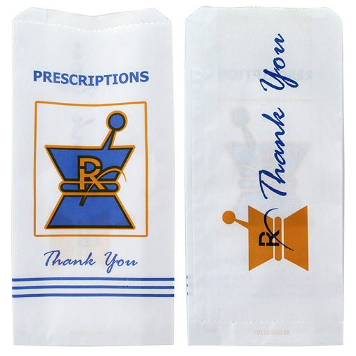 Kraft Pharmacy Paper Bags Medium - Smoketokes