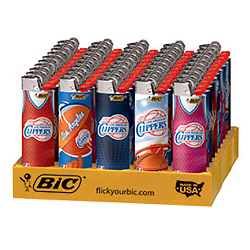 Bic Clippers Flint Lighter Display - Smoketokes
