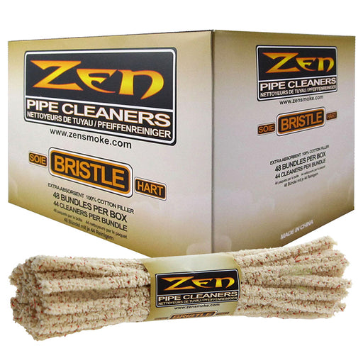 Zen Bristle Pipe Cleaners Box - Smoketokes