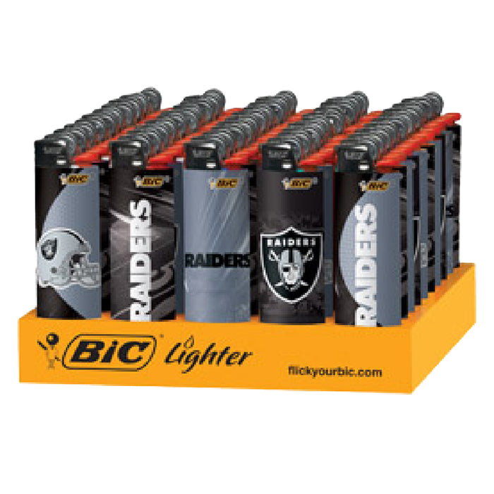 Bic Raiders Flint Lighter Display - Smoketokes