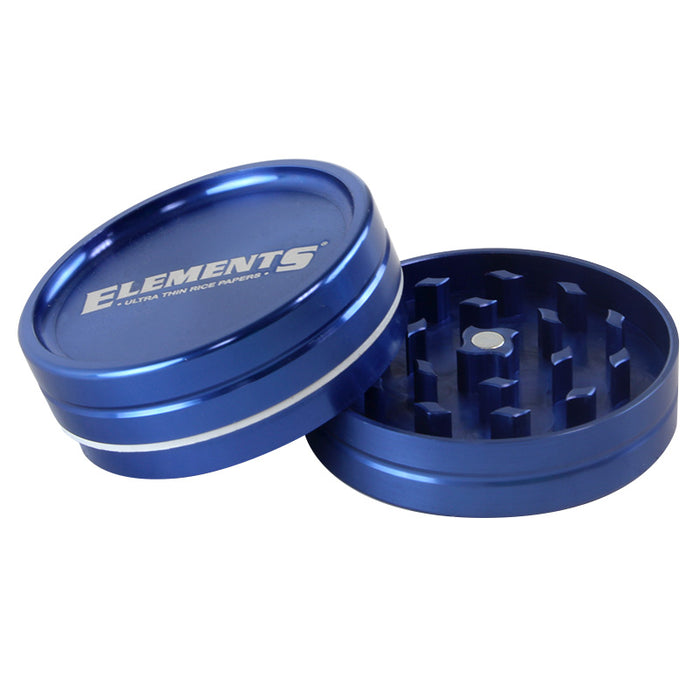 Elements 2pc 56mm Whole Leaf Grinder - Smoketokes