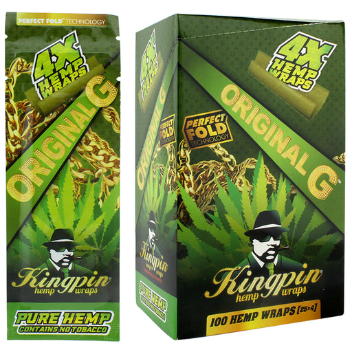 Kingpin Hemp Wrap Original G Flavor - Smoketokes