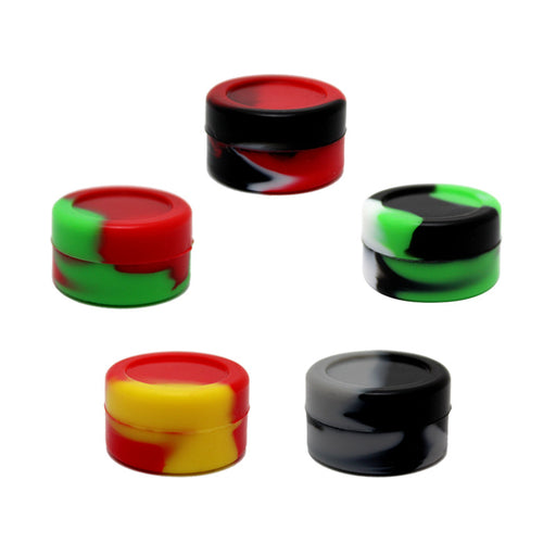 3ml Marbled Silicone Jar - Smoketokes