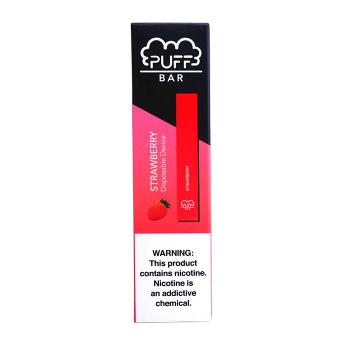 Puff Bar - Strawberry (Disposable Device)