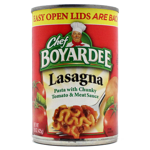 Chef Boyardee Lasagna Safe Can - Smoketokes
