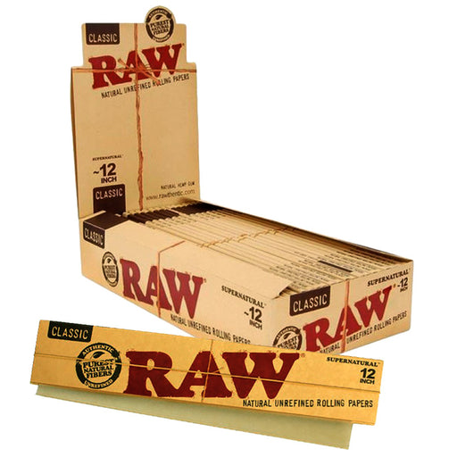 "Raw Classic 12"" Supernatural Rolling Paper - Smoketokes"