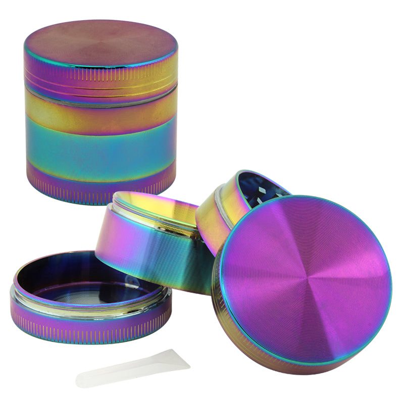 Anodized Zinc 4 Part Grinder 40mm - Smoketokes