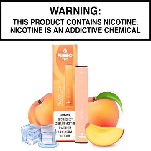 Fuego Stix Peach Ice (Disposable Device)