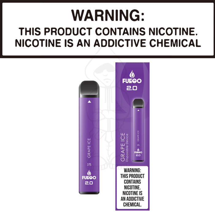 Fuego Stix 2.0 - Grape Ice (Disposable Device)