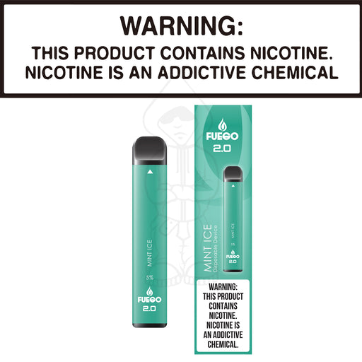 Fuego Stix 2.0 - Mint Ice (Disposable Device)