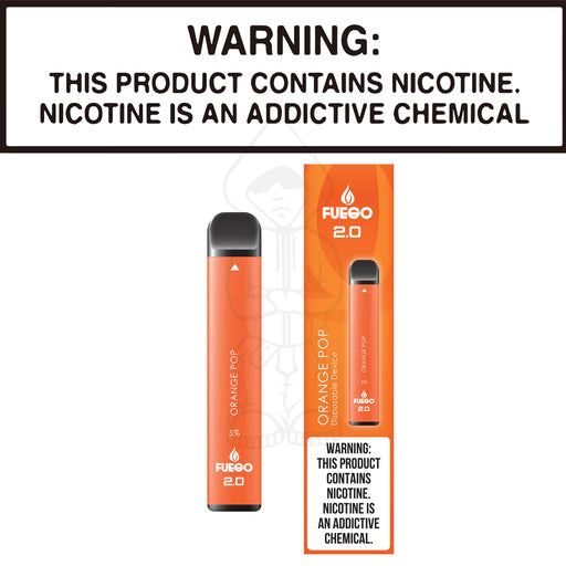Fuego Stix 2.0 - Orange POP (Disposable Device)