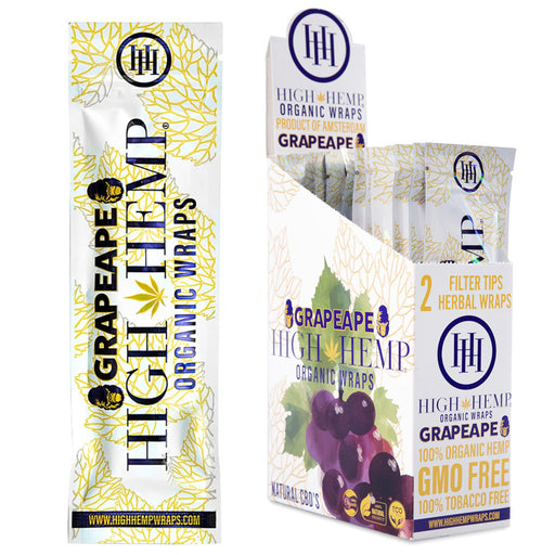 High Hemp GrapeApe Organic Wraps