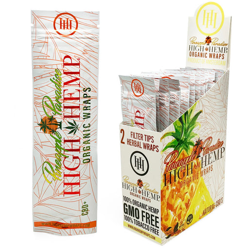 High Hemp Pineapple Paradise Organic Wraps