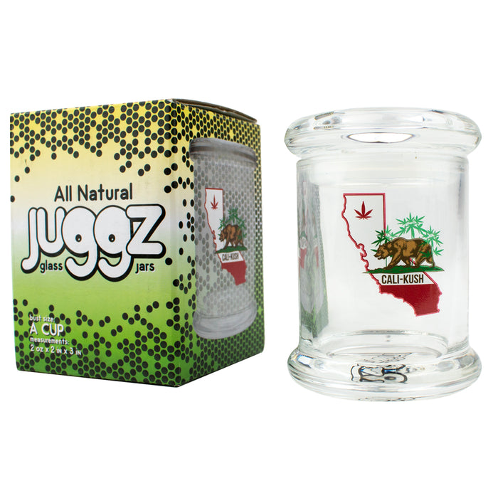 Juggz Cali Kush Glass Jar