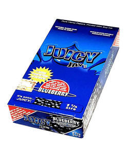 "Juicy Jay Rolling Paper 1 1/4"" Blueberry"