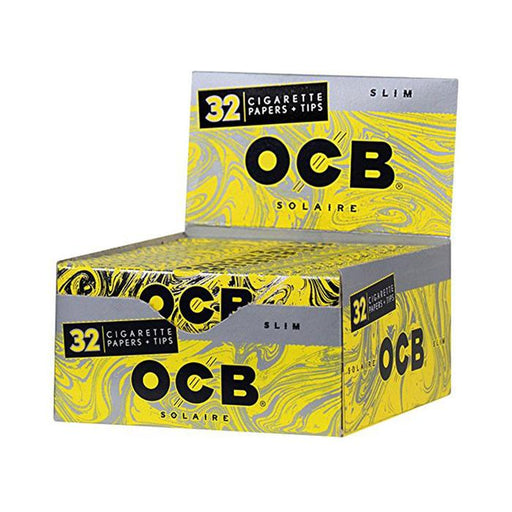 OCB Solaire Slim King Size Rolling Paper