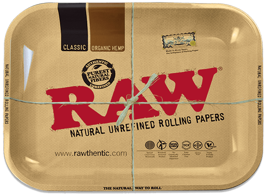 Raw Classic Metal Rolling Tray