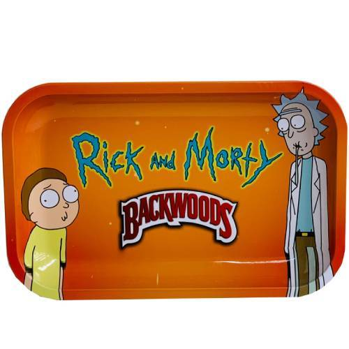 Backwoods Rick and Morty #2 Rolling Tray