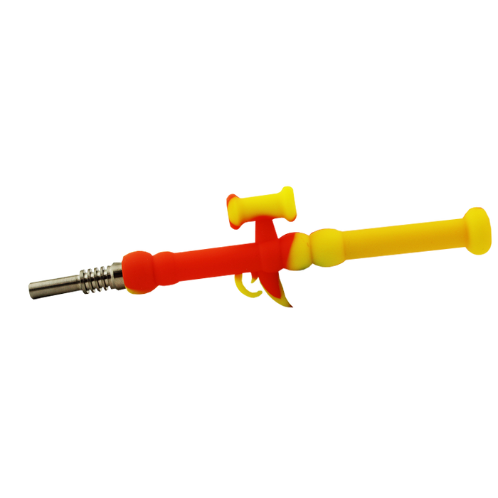 Mini Silicone Rocket Launcher Nectar Collector - Smoketokes
