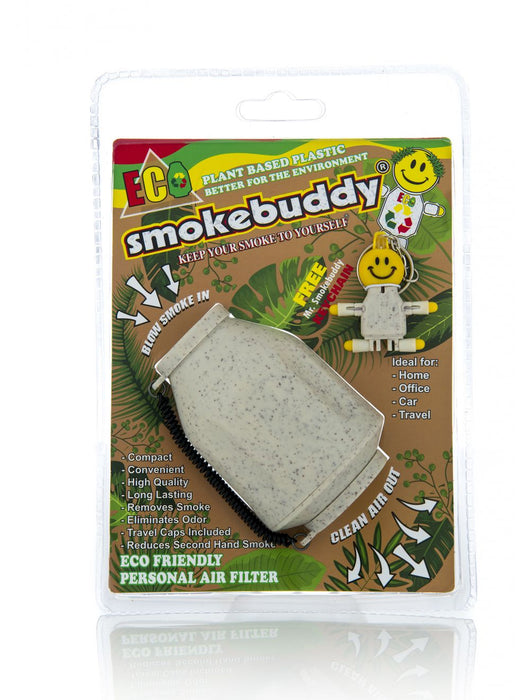 Smokebuddy White Eco-Friendly Personal Air Filter