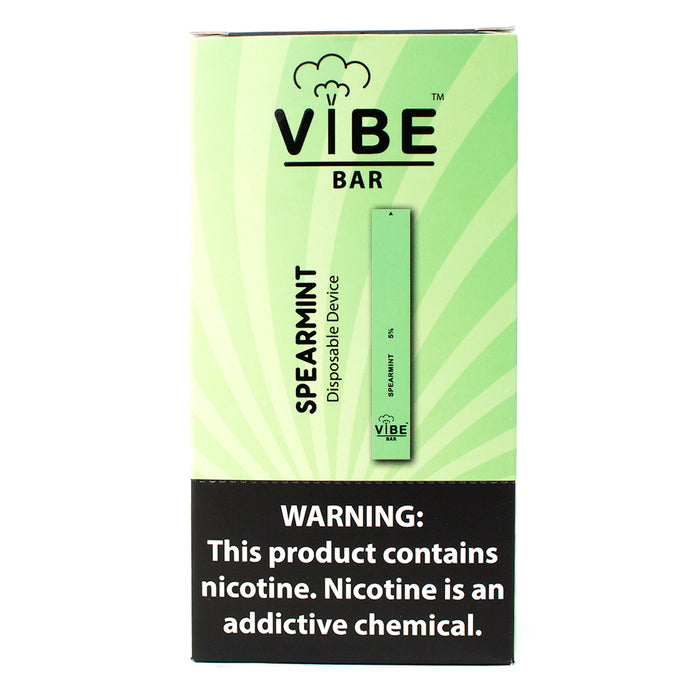 Vibe Bar - Spearmint (Disposable Device)
