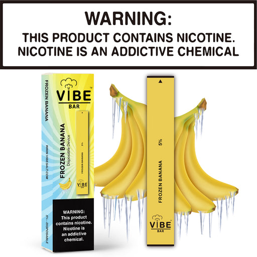Vibe Bar - Frozen Banana (Disposable Device)
