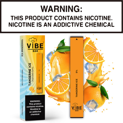 Vibe Bar - Tangerine Ice (Disposable Device)
