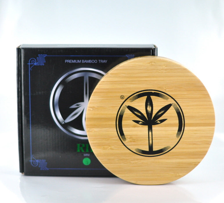 World Piece Bamboo Rolling Tray - RIP MINI