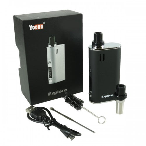 Yocan Explore Dry Herb and Wax Vaporizer