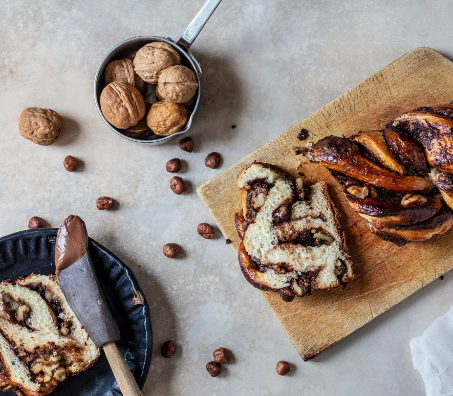 Babka - Chocolate & Walnuts - Moments Bakery