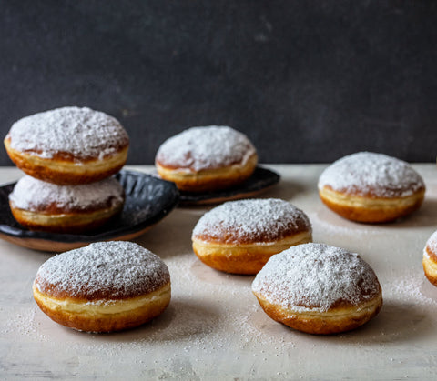 Powdered Donut (Plain) - Moments Bakery
