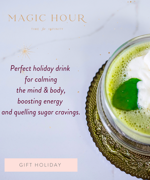 The Magic Hour Matcha Grasshopper