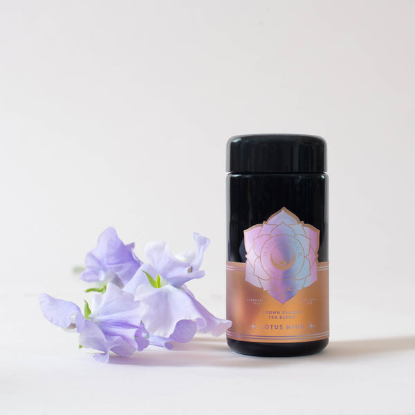 Lotus Mind: Tea of the Crown Chakra Traveler