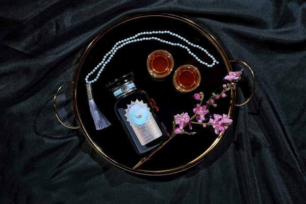 Magic Hour Subscription Box w/Violet Glass Apothecary Jar