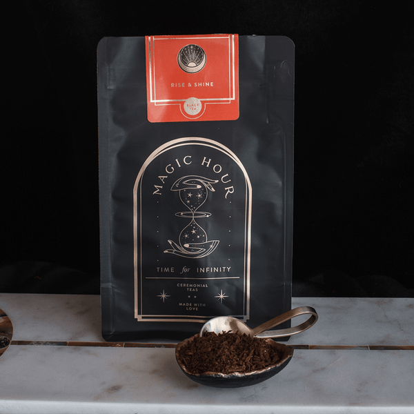Rise & Shine Chaga Puerh Chocolate Tea