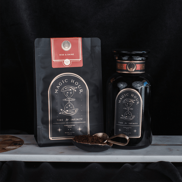 Rise & Shine Puerh Chaga Chocolate Tea