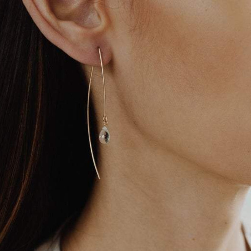 Sarai Crescent Earrings