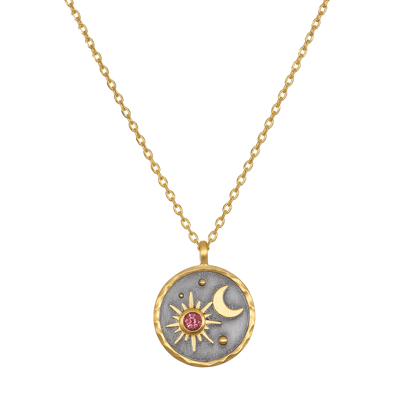 Celestial Birthstone Necklaces