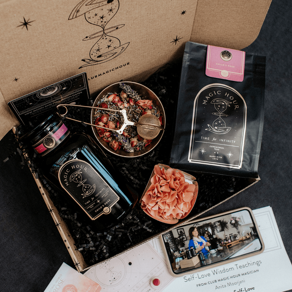 Self-Love Box - Tea & Transformation subscription box | Organic healing tea & Gifts